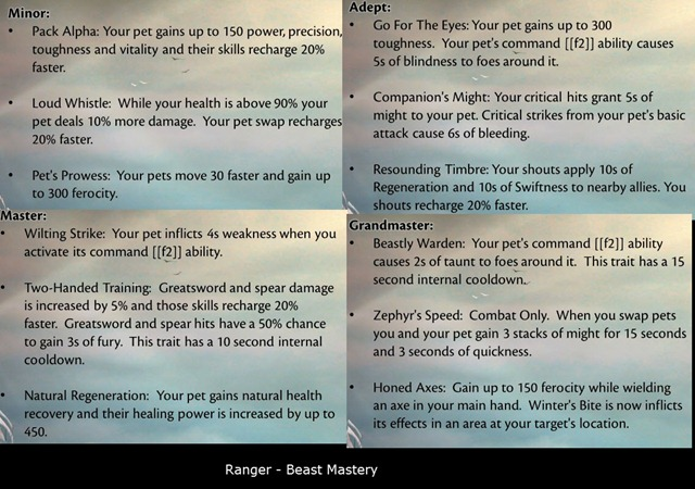 gw2-ranger-beast-mastery-trait-changes