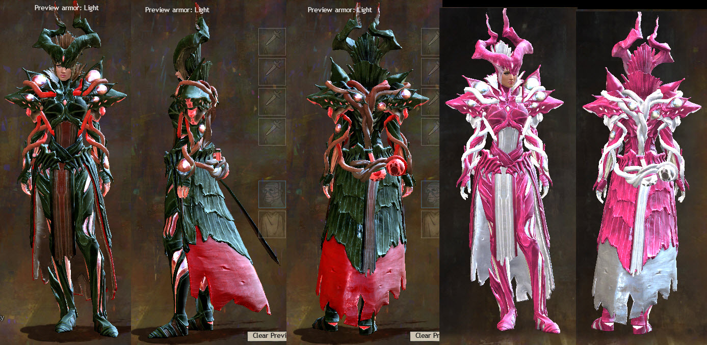 GW2 Upcoming Gemstore items from July 7 Patch - Dulfy