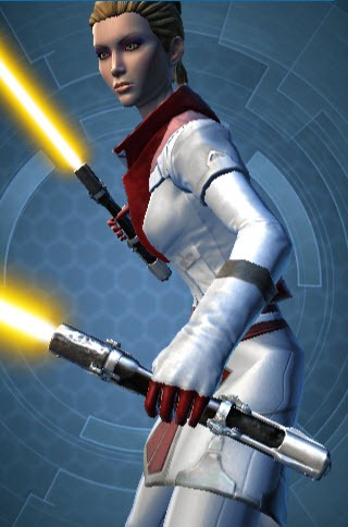SWTOR Thexan's Robe and Lightsaber in Collections - Dulfy