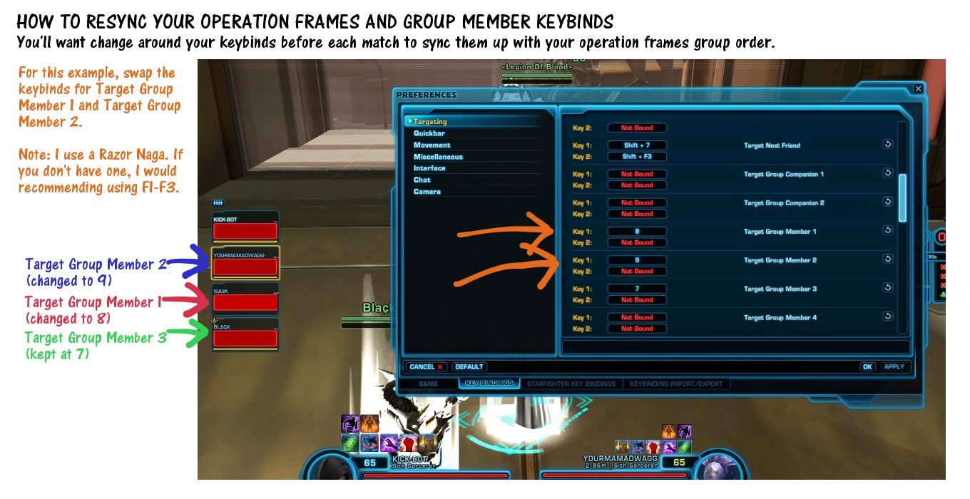How to Resync Operation Frames