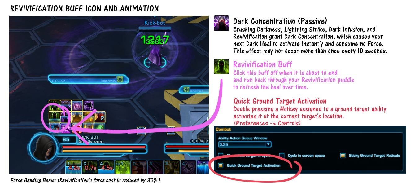 Revivification Buff Icon and Animation