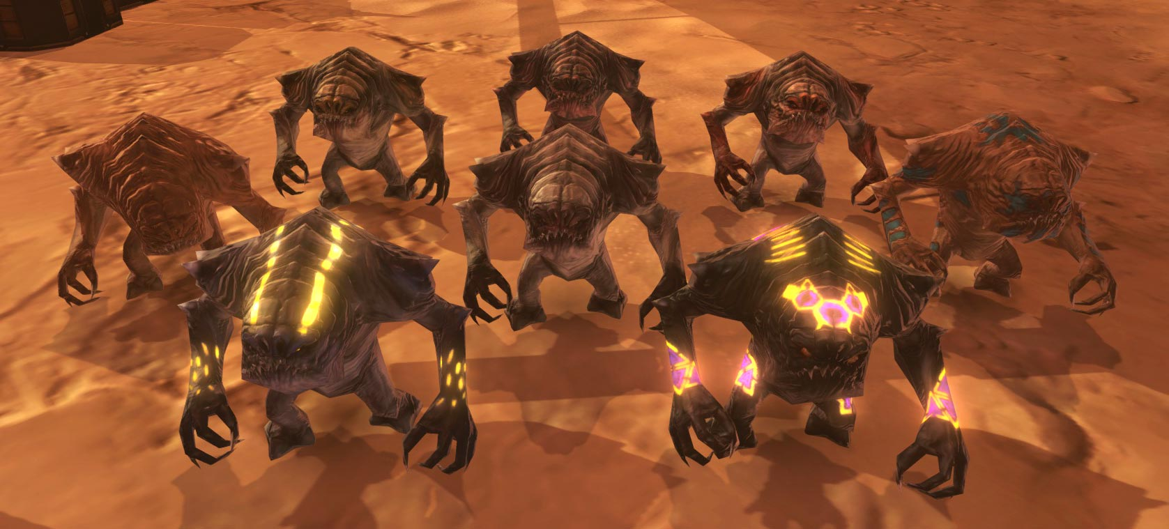 SWTOR Juvenile Rancor pets from Cartel Coins - Dulfy