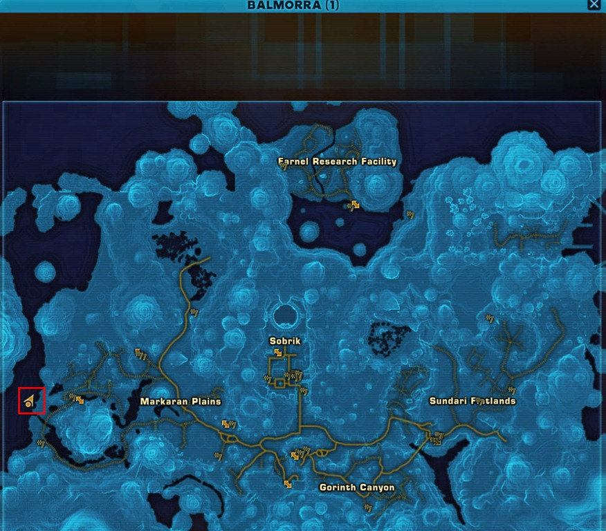 SWTOR World Bosses Locations Guide - Dulfy