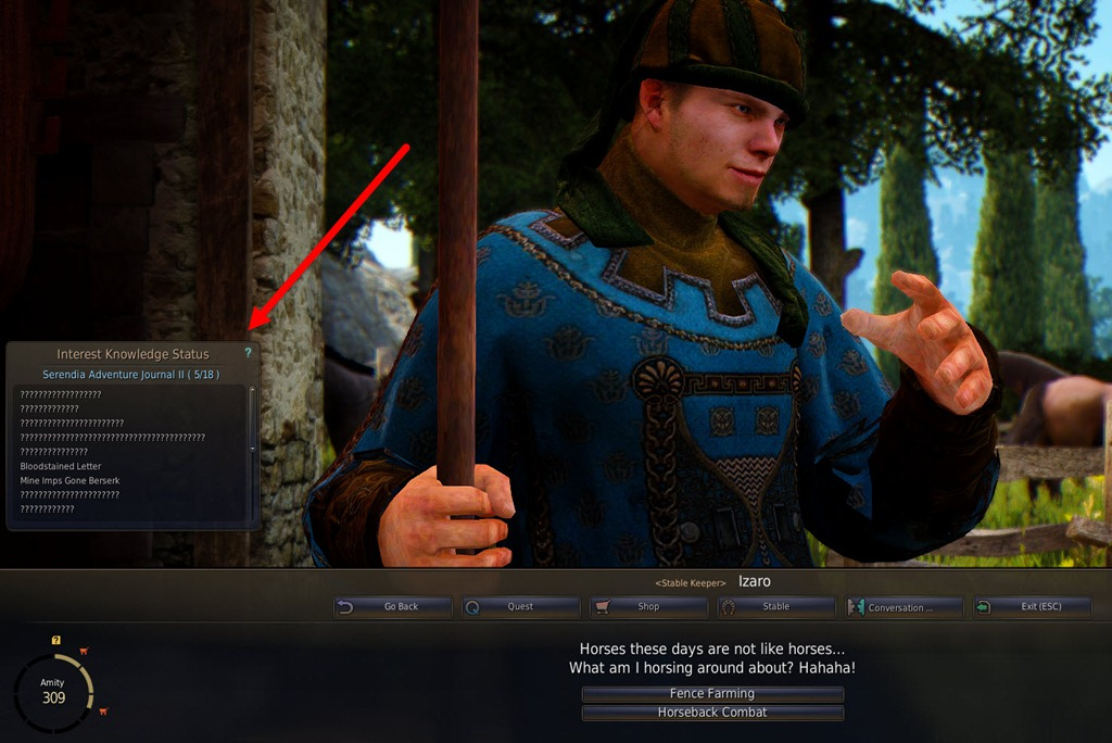 Black Desert Online Conversation and Amity Guide - Dulfy
