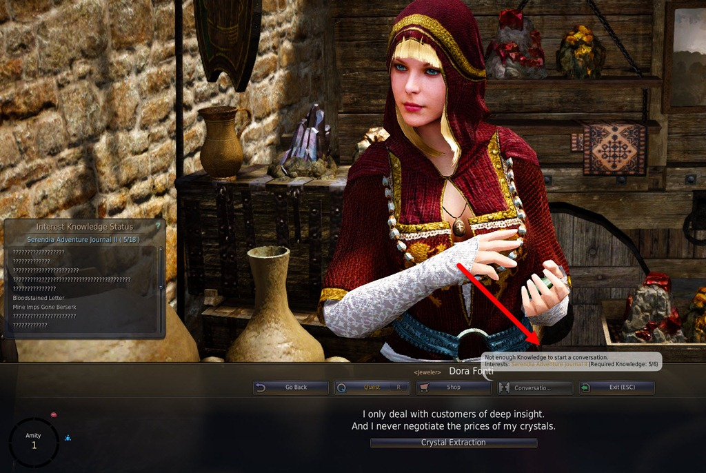 Black Desert Online Conversation And Amity Guide Dulfy