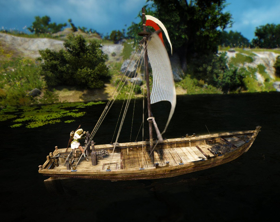 Black Desert Fishing Boat Construction Guide - Dulfy