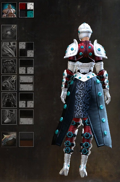 GW2 Ironclad Outfit and Glider Gallery - Dulfy