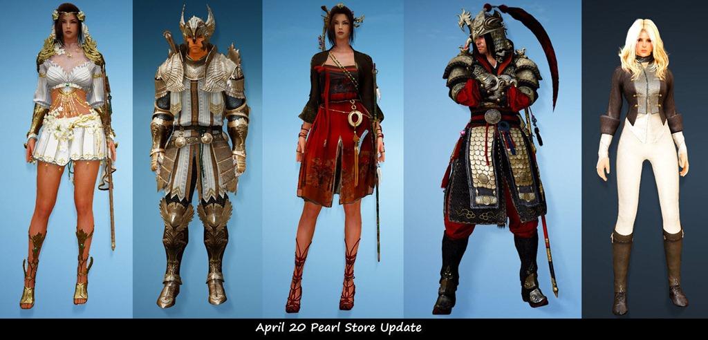 Black Desert April 20 Pearl Shop Update - Dulfy