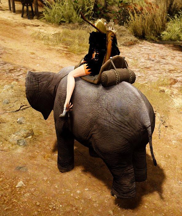 Black Desert Miniature Elephant Mount Guide - Dulfy
