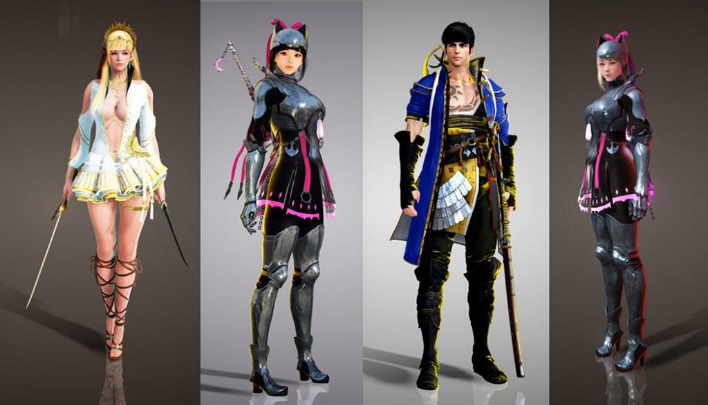 Black Desert Nov 23 New Korean Costumes - Dulfy