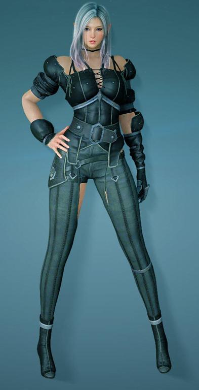 Black Desert Dark Knight Armor and Combat Animations - Dulfy