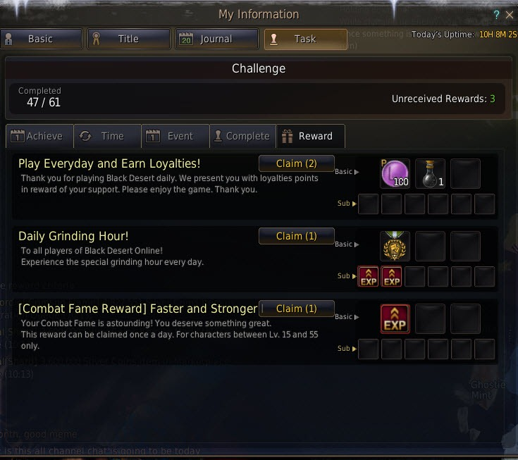 Black Desert Fame Levels and Payout Guide - Dulfy