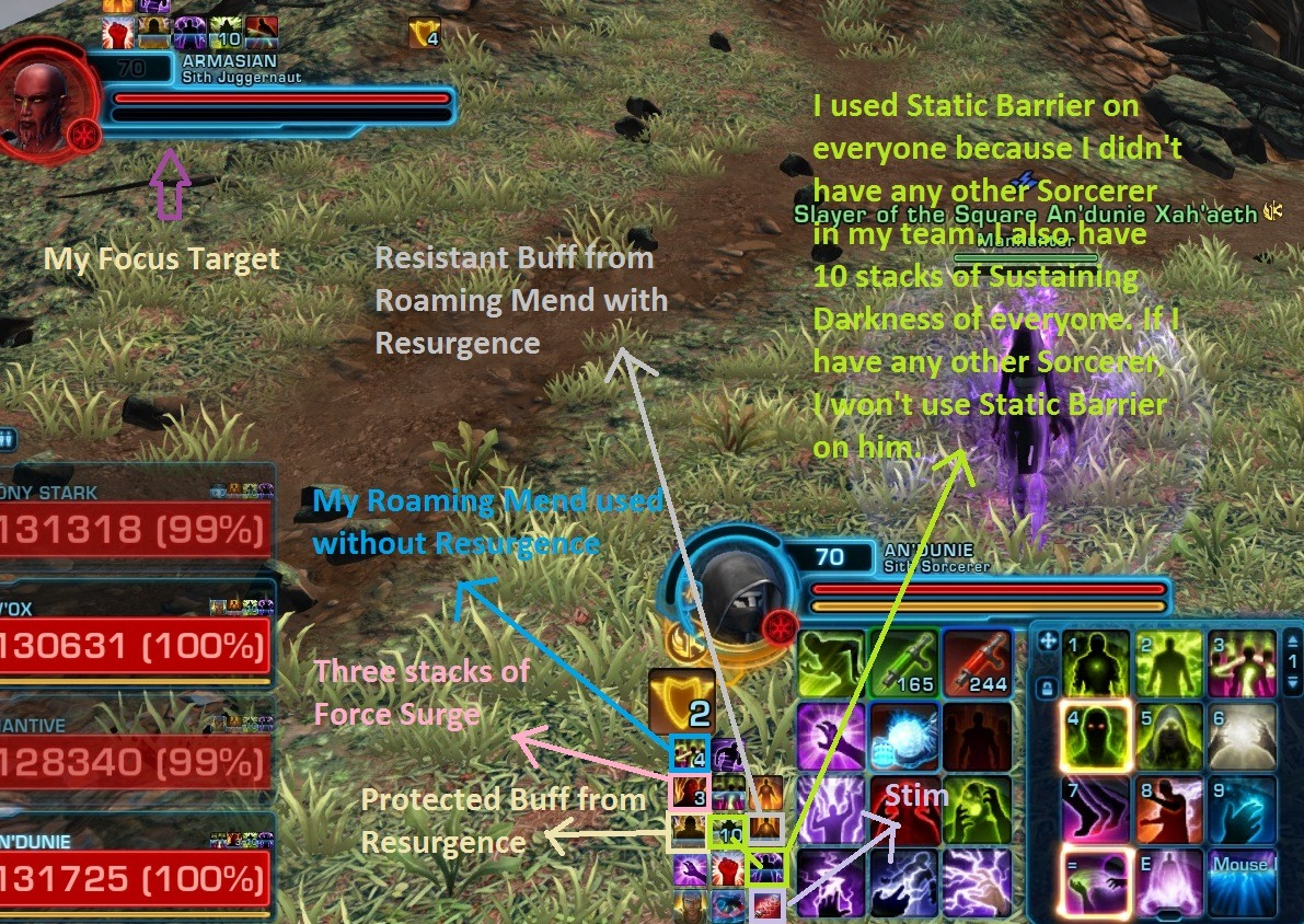 SWTOR 5 0 Corruption Sorcerer PvP Guide by Andunie Anzu - Dulfy