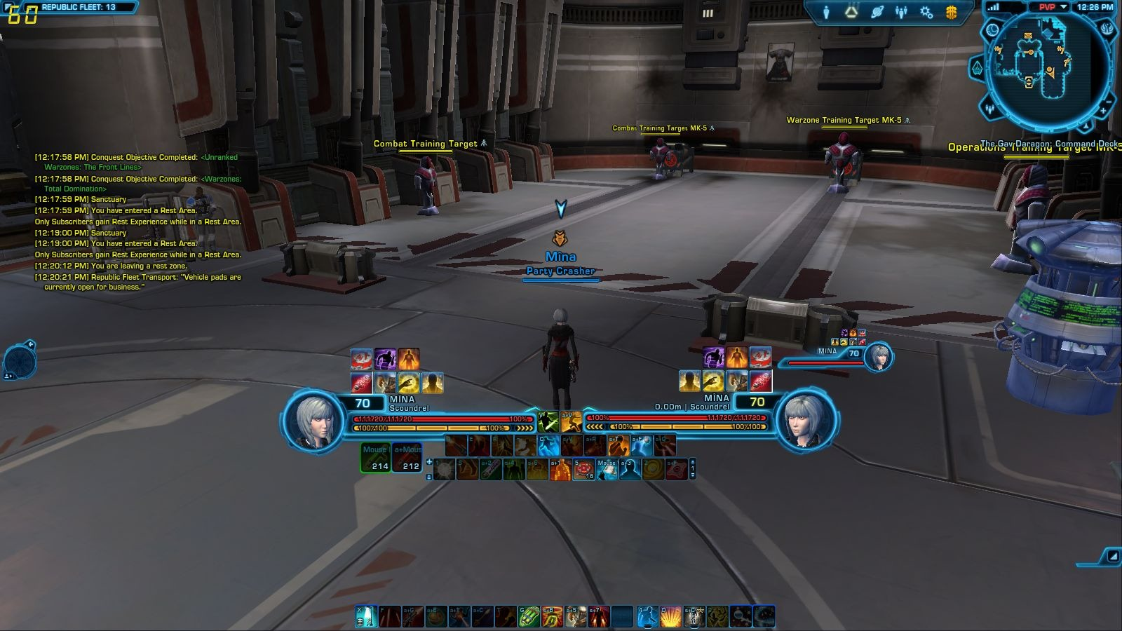 SWTOR 5 0 Scrapper Scoundrel PvP Guide by Saya - Dulfy