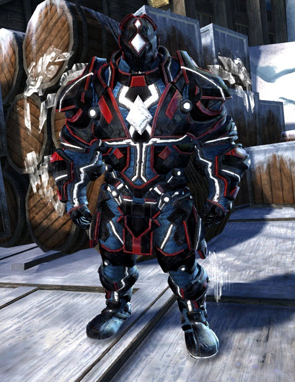 GW2 Gemstore Update– Dynamics Exo-Suit Outfit and Glider - Dulfy
