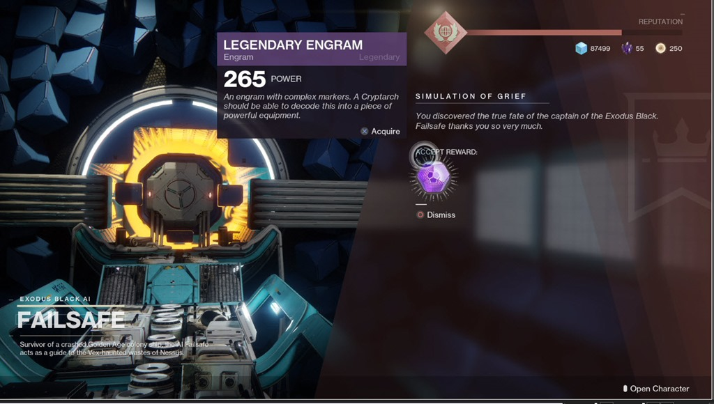 destiny 2 save engrams