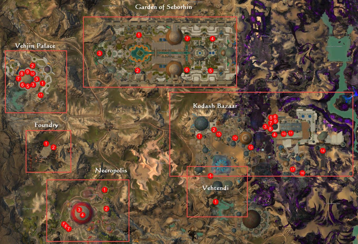 Gw2 Karte.Gw2 Praise Joko Achievement Guide Dulfy