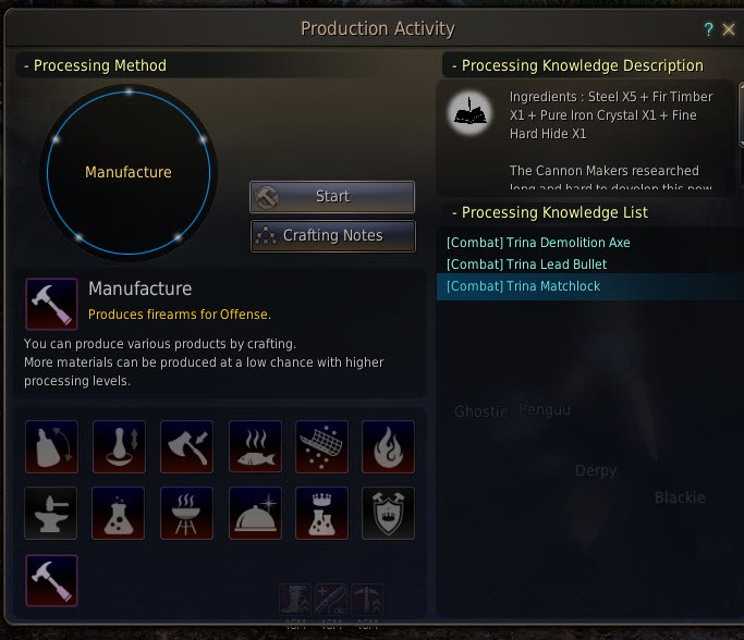 Black Desert Trina Siege Weapons and Manufacture Guide - Dulfy