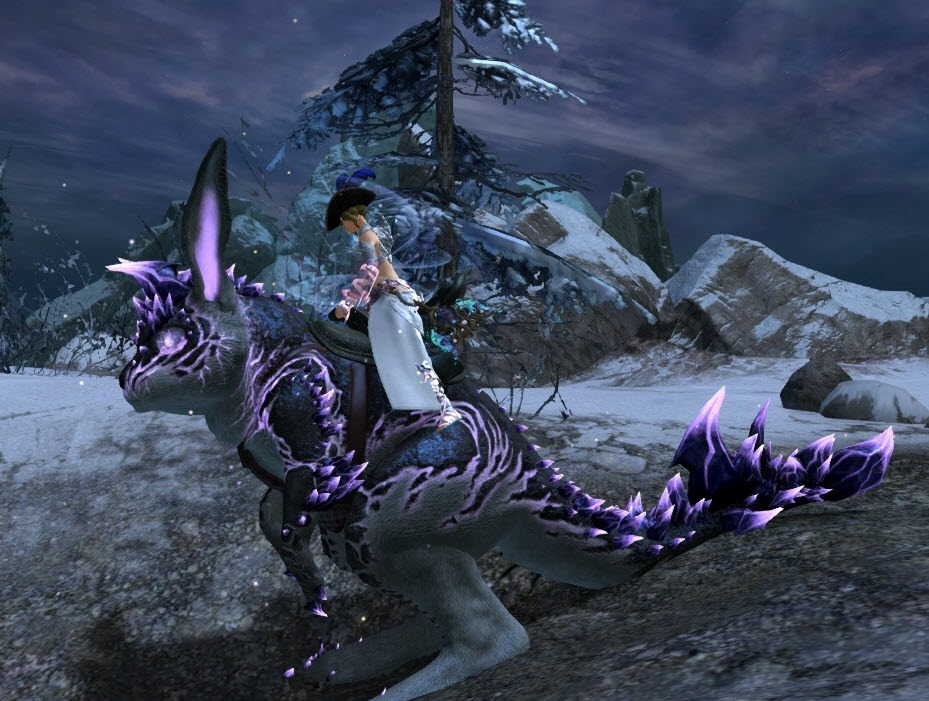GW2 Gemstore Update–Branded Mount Skins and Appearance Options - Dulfy