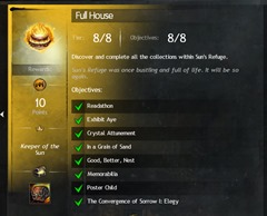 GW2 Full House Collection & Achievement Guide - Dulfy