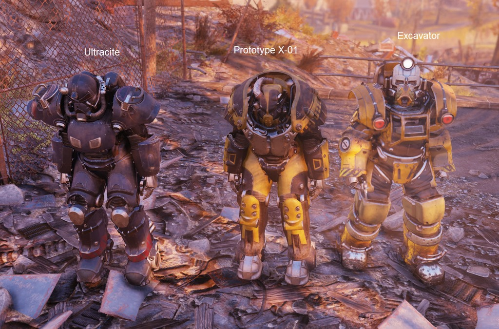 Fallout 76 Prototype X-01 Power Armor Crafting Guide - Dulfy