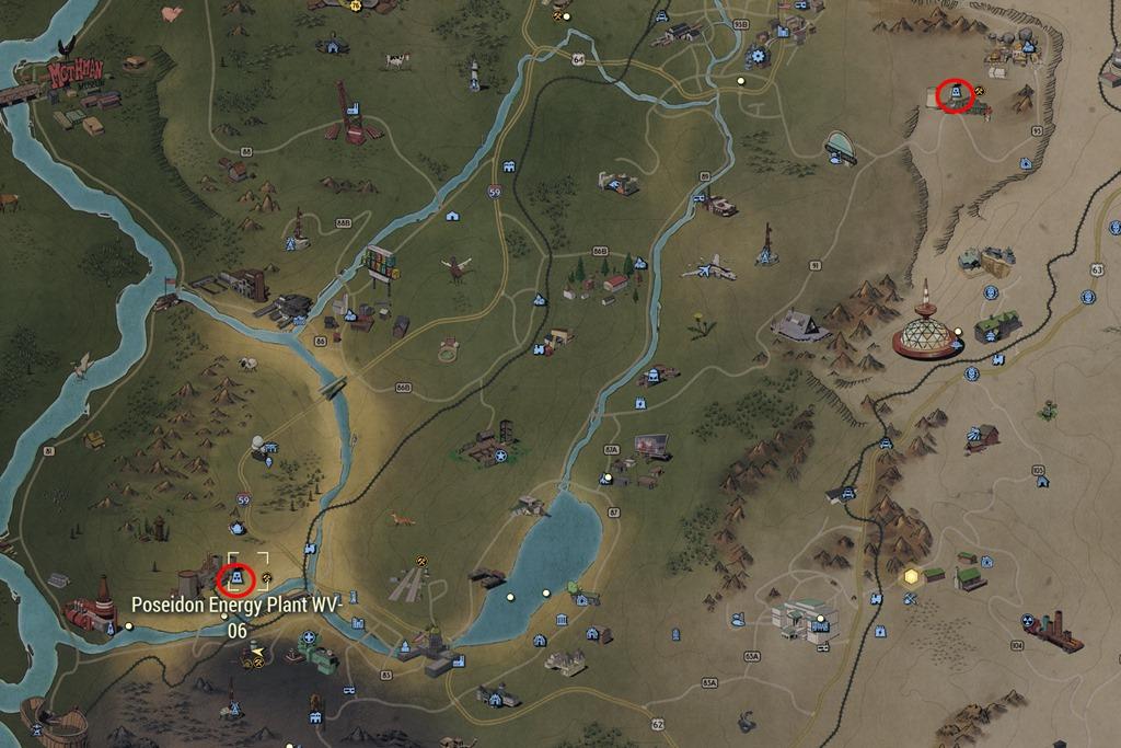 Spruce Knob Lake Fallout 76 On Map