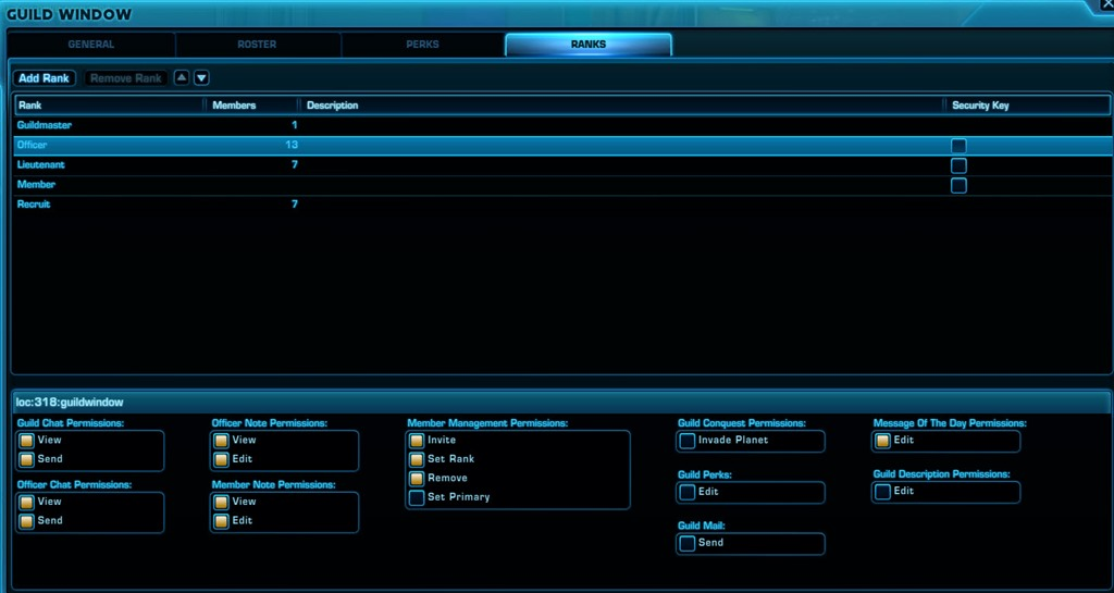SWTOR Guild Perks and Guild Levels Guide - Dulfy