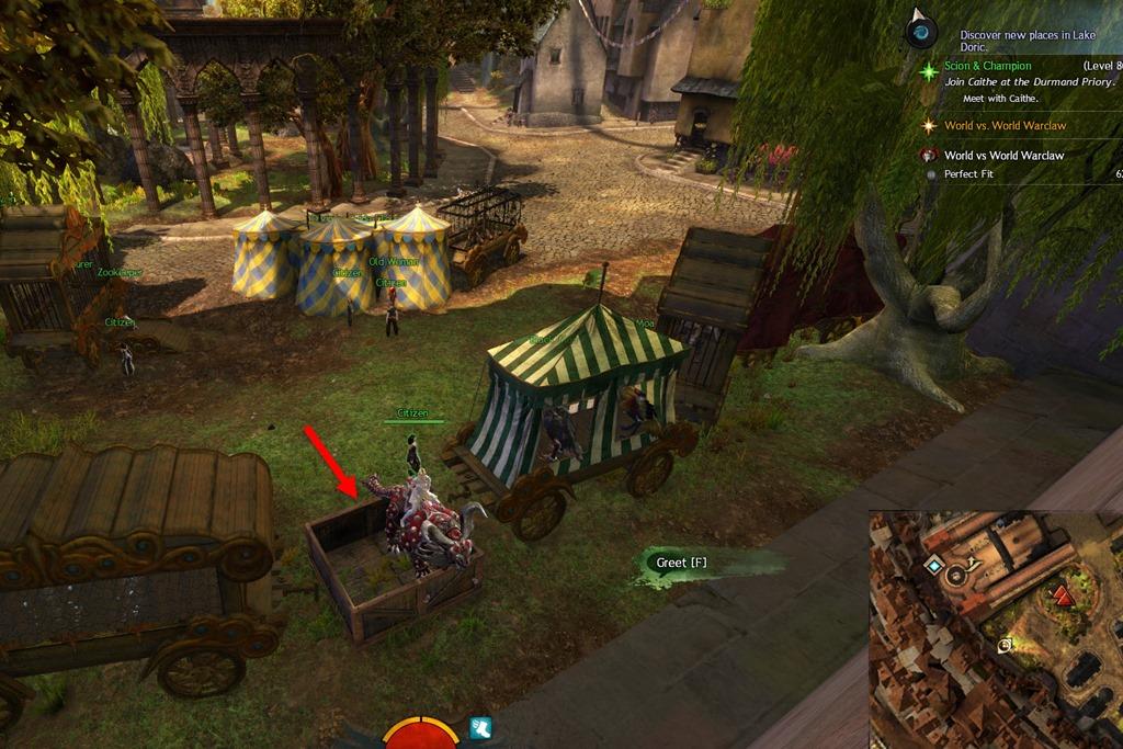 GW2 Warclaw Mount Unlock Guide - Dulfy