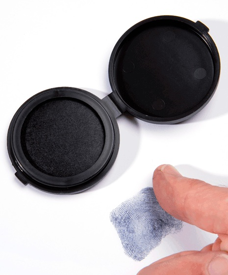 Inkless Fingerprinting Kit