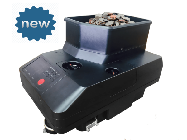 Counts & Different Currency Coins, Token And Chips For Retail Stores With Adjustable Thickness