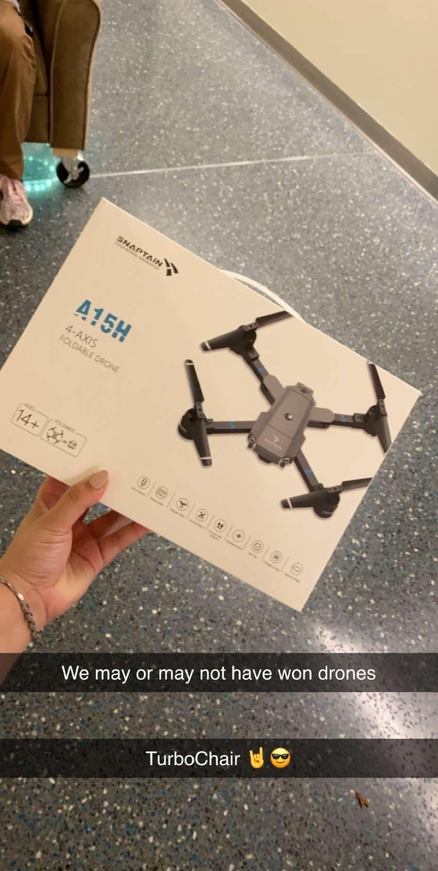 Drone prize