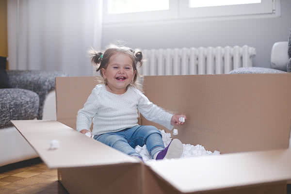 Where to Find Your Child a Giant Cardboard Box