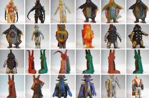 kaiju vinyl toys design