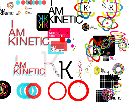 i am kinetic cross section logos