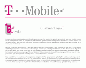 tmobile loyalty page example