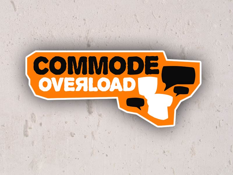 commode overload logo