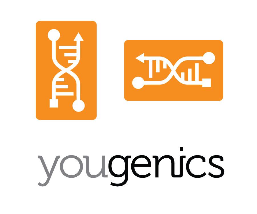 Yougenics logo vert horizontal