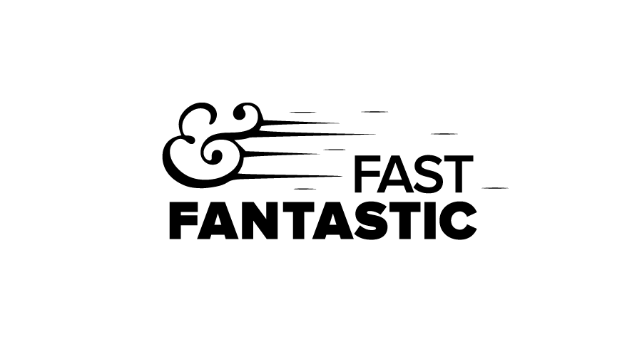 Fast and fantastic logo