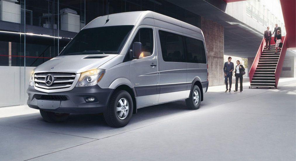 A1 rental vans passenger van rental company llinois for Mercedes benz van rental