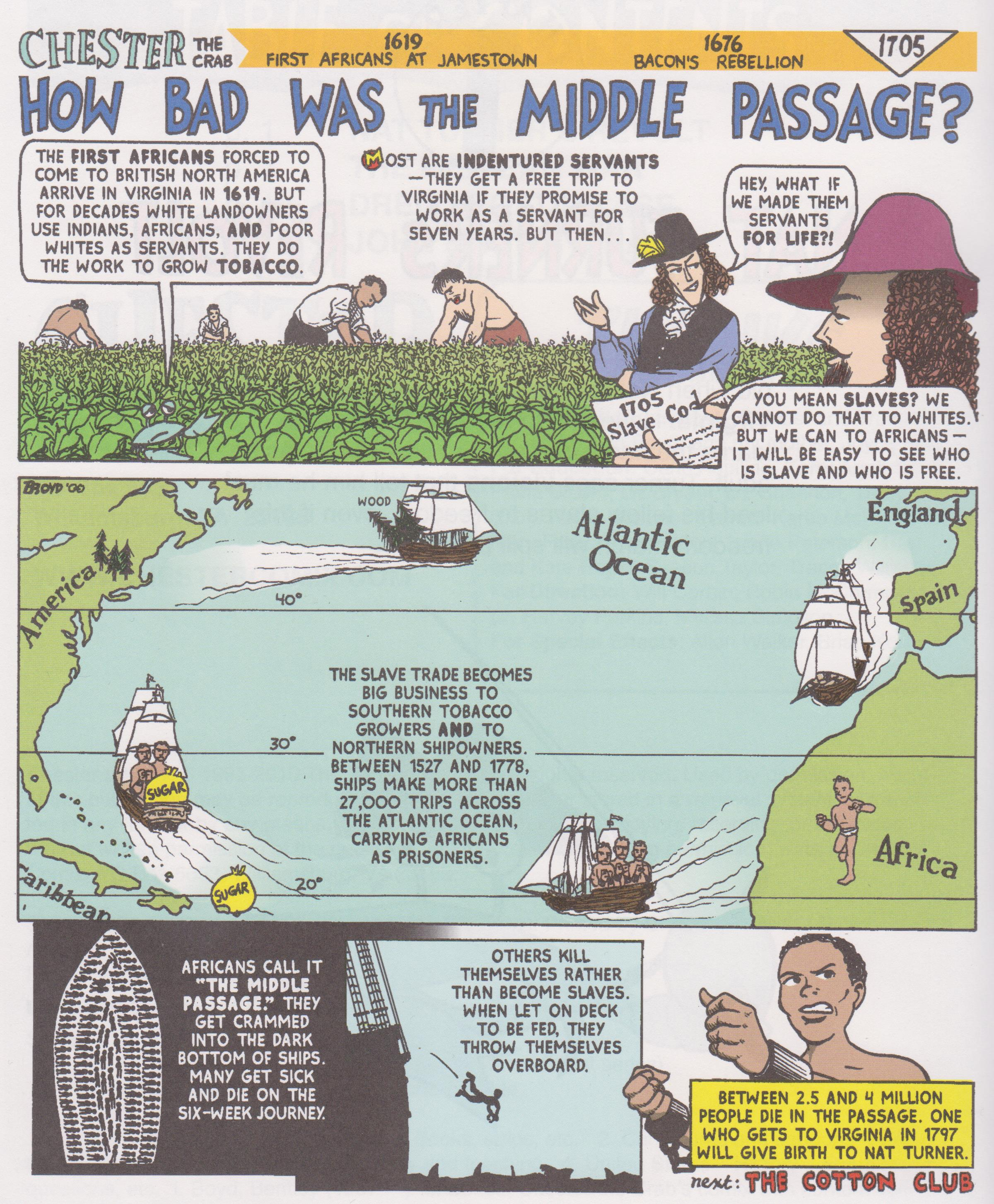 How bad was the Middle Passage? | Interactive Worksheet by ...