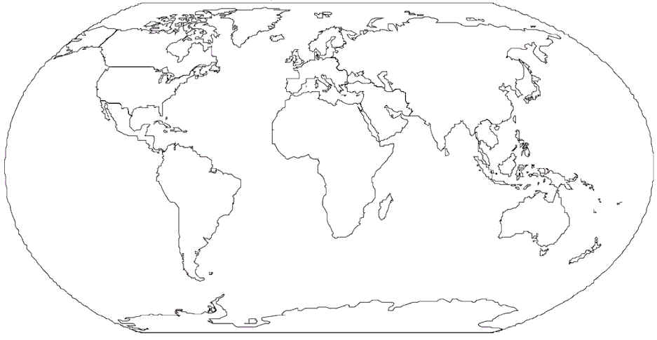 Label The 7 Continents And 5 Oceans