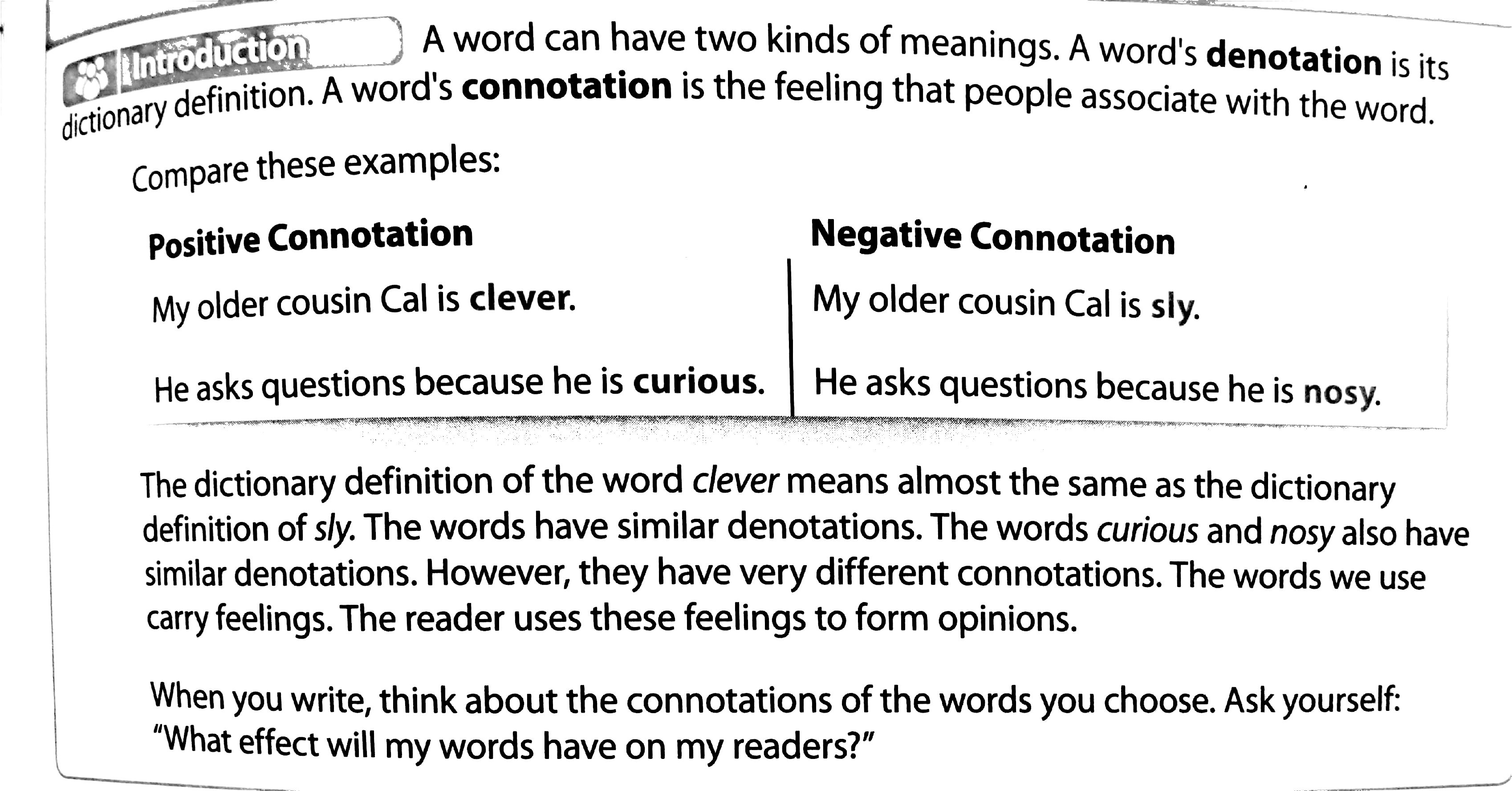 Worksheets Connotation Worksheet worksheet preview by lisa stienkemeyer blended worksheets wizer me denotation and connotation