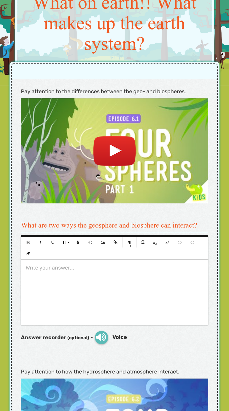 Worksheet Preview By Debby Nelson Blended Worksheets Wizer Me