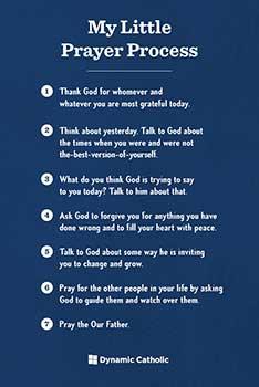 Childrends Prayer Process Cards