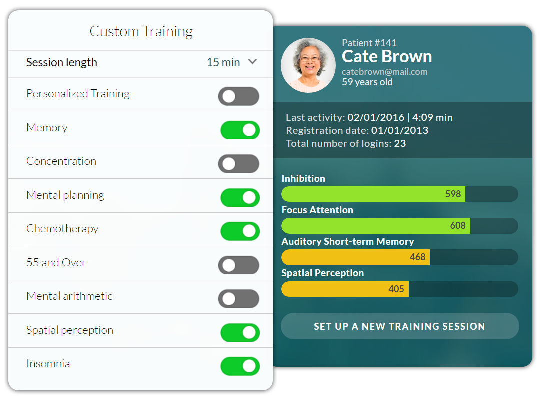 CogniFit Brain traning - Cognitive Tools