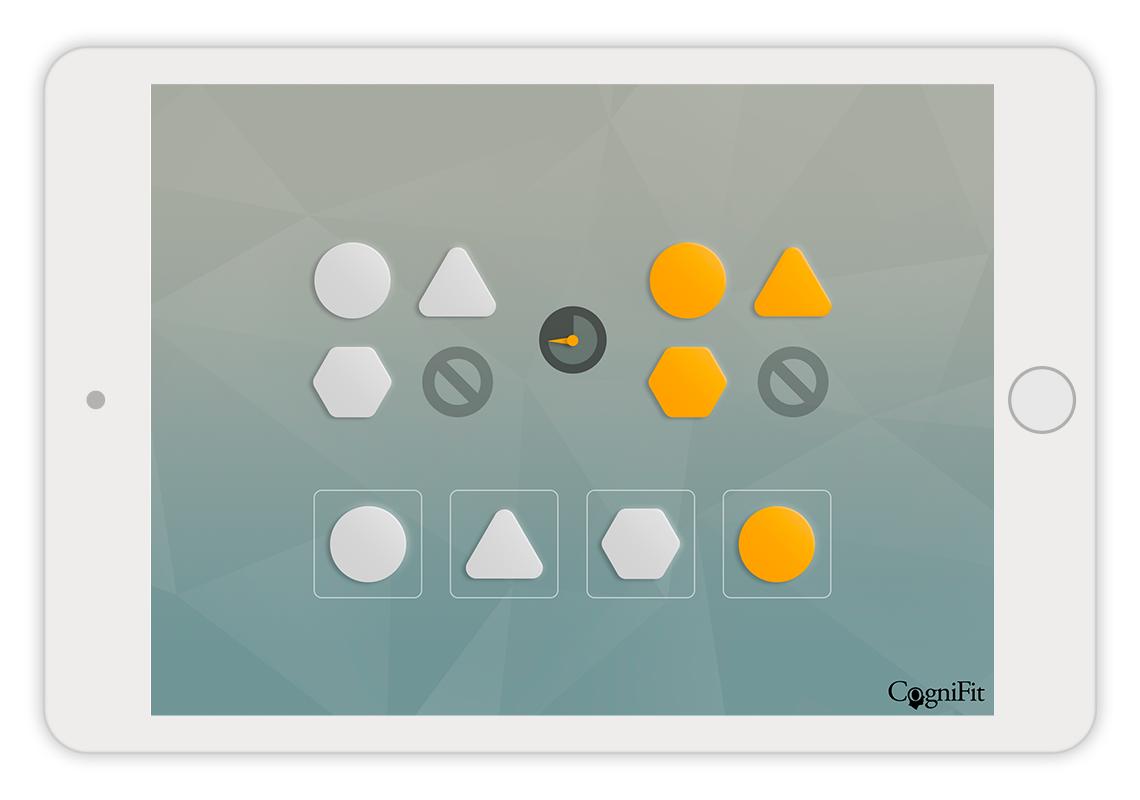 Gedächtnistraining-Spiele - CogniFit