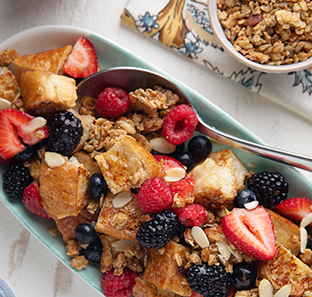 Berry Exciting French Toast Panzanella