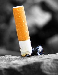 Como deixar de fumar uma foto de pulmões