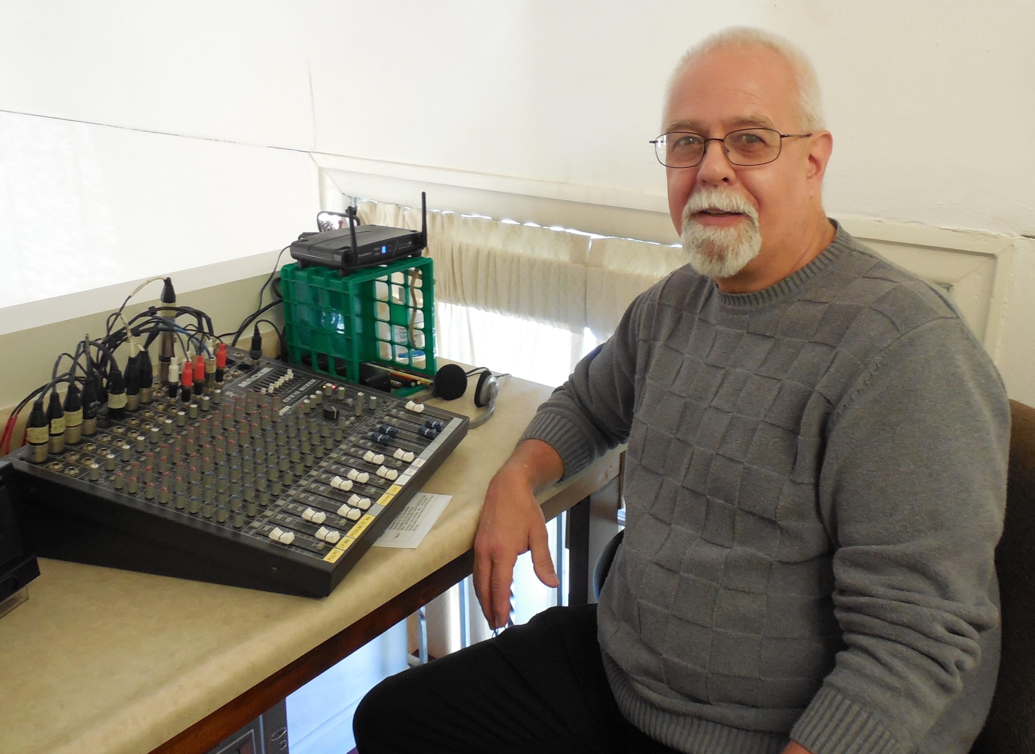 Jim Rosaci, sound technician