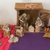 Christmas: Manger scene